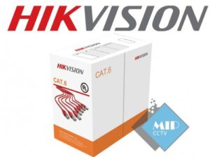 کابل شبکه CAT6 UTP DS-1LN6-UU هایک ویژن