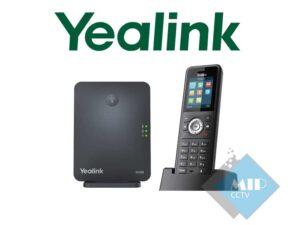 تلفن تحت شبکه بیسیم دکت یالینک Yealink W59R